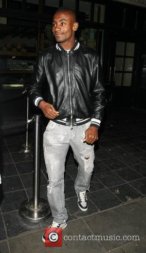 Salomon Kalou joins some of his Chelsea FC team mates for a night out at Boujis nightclub in Kensington following...