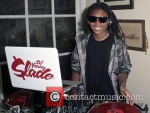 DJ Young Slade,  at Disney star Chelsey Bryson of 'Just Kickin' It' celebrating her 16th birthday party in Toluca...