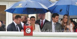 Wayne Rooney and Coleen Rooney May Cup Day held at Chester racecourse Cheshire, England - 09.05.12