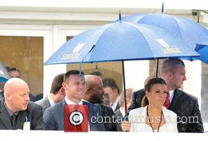 Wayne Rooney and Coleen Rooney watch their horse Pippy come last May Cup Day held at Chester racecourse Cheshire, England...