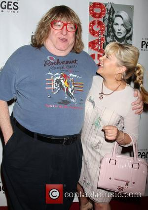 Bruce Vilanch and Charlene Tilton