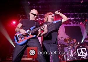 Joe Satriani and Sammy Hagar