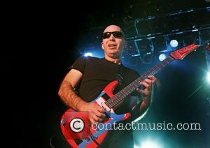 Joe Satriani Chickenfoot performing at Manchester Academy Manchester, England - 12.01.12