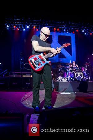 Joe Satriani  Chickenfoot performing live at Brixton Academy in London London, England - 14.01.12