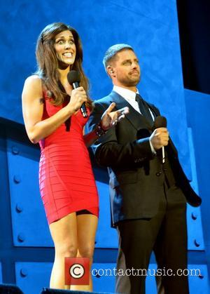 Glenda Gilson and  Keith Duffy Cheerios Childline Concert 2012 held at the O2 Arena - Performances Dublin, Ireland -...