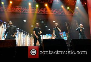 Oritsé Williams, Marvin Humes, Aston Merrygold and Jonathan 'JB' Gill of JLS  Cheerios Childline Concert 2012 held at the...