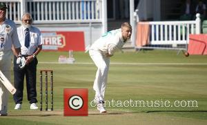 Freddie Flintoff The Chris Evans Children In Need cricket match with the Bunburys at Canterbury Canterbury, England - 13.09.12