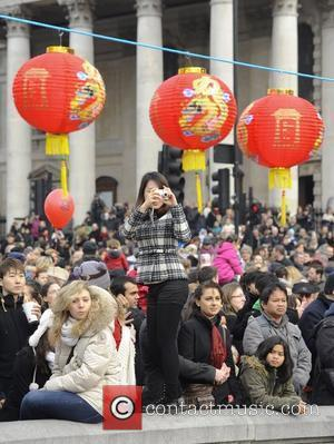 Atmosphere and Chinese New Year