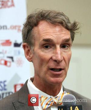 Bill Nye ,  'Choose YOUR America' Nonpartisan Campaign To Shine Light On Election 2012 held at The USC Campus...