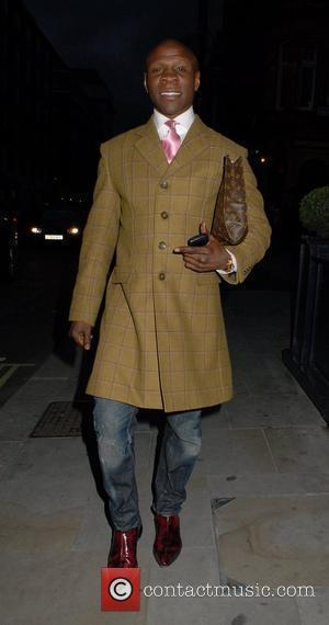 Chris Eubank seen out and about in Mayfair London, UK - 08.06.12