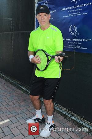 Alan Thicke  participates in the Chris Evert / Raymond James Pro- Celebrity Tennis Classic at the Delray Tennis Center...