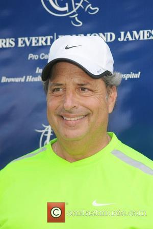Jon Lovitz  participates in the Chris Evert / Raymond James Pro- Celebrity Tennis Classic at the Delray Tennis Center...