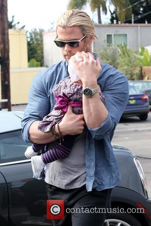 Chris Hemsworth and India Rose Hemsworth