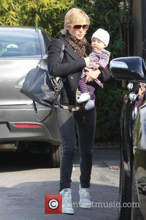 Elsa Pataky and daughter India Rose Hemsworth  Elsa Pataky goes out to lunch in Santa Monica with her husband...