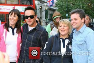 Ant and Dec aka Anthony McPartlin and Declan Donnelly outside the BBC Broadcasting House & Radio Theatre for the Chris...