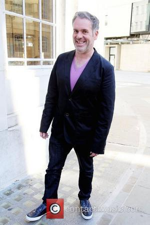 Chris Moyles outside the BBC Broadcasting House & Radio Theatre for the Chris Moyles Breakfast Show London, England - 13.09.12