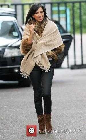 Fiona Wade outside the ITV studios London, England - 28.09.12