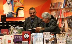 Christian Audigier shopping for books at Fashion Bookstore Los Angeles, California - 03.03.12