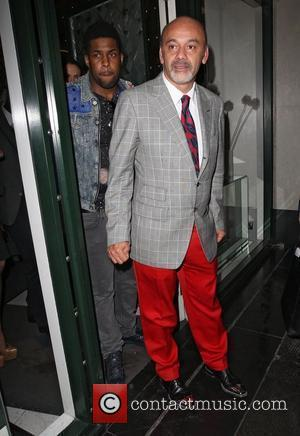 Christian Louboutin,  at the Christian Louboutin After Party held at The Ivy Club. London, England - 30.04.12
