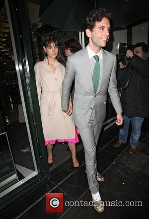 Mika,  at the Christian Louboutin After Party held at The Ivy Club. London, England - 30.04.12