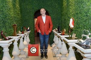 Christian Louboutin attends a photocall for his forthcoming exhibition at the Design Museum London, England - 30.04.12