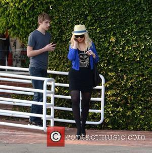 Christina Aguilera leaves Fred Segal in West Hollywood Los Angeles, California - 30.03.12