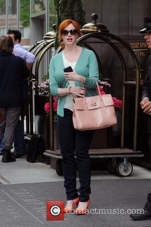 Christina Hendricks and Manhattan Hotel