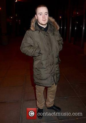 Maverick Sabre outside the RTE studios for 'The Late Late Show' New York City, USA - 27.01.12