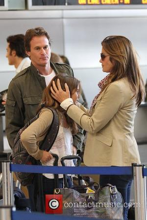 Cindy Crawford, Rande Gerber, Presley Walker and Kaia Jordan