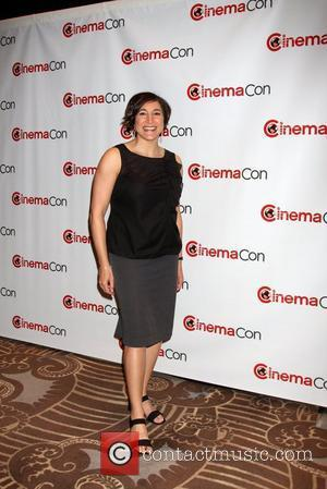 Katherine Sarafian arrives at the 2012 CinemaCon held at Caesars Palace  Las Vegas, Nevada - 24.04.12