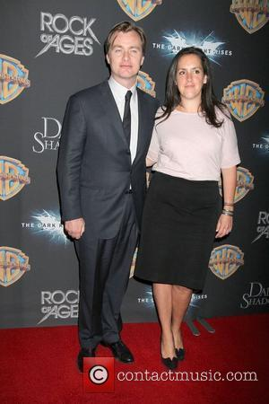 Christopher Nolan, Emma Thomas Warner Brothers pictures at the 2012 CinemaCon held at Caesars Palace. Las Vegas, Nevada - 24.04.12
