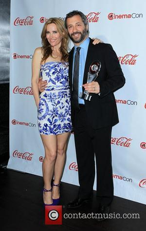 Leslie Mann, Judd Apatow and Caesars Palace