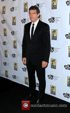 Antonio Banderas CinemaCon 2012 Pioneer of The Year Award Red Carpet at Caesars Palace Resort and Casino Las Vegas, Nevada...
