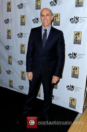 Jeffrey Katzenberg CinemaCon 2012 Pioneer of The Year Award Red Carpet at Caesars Palace Resort and Casino Las Vegas, Nevada...