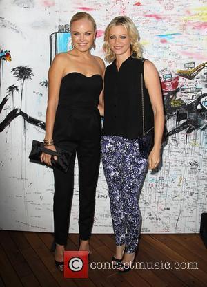 Malin Akerman and Amy Smart