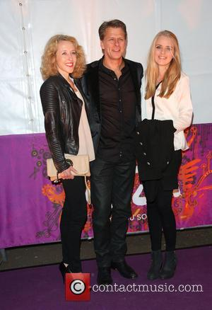 Andrew Castle; Wife; Daughter 'Cirque Du Soleil: Kooza' opening night at the Royal Albert Hall - Arrivals  Featuring: Andrew...