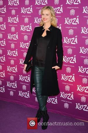Eva Herzigova Kooza Cirque Du Soleil opening night at the Royal Albert Hall - Arrivals  Featuring: Eva Herzigova Where:...