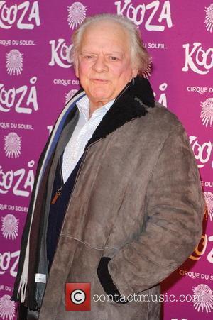 Sir David Jason Kooza Cirque Du Soleil opening night at the Royal Albert Hall - Arrivals  Featuring: Sir David...
