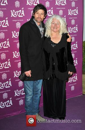Jason Orange and mum Kooza Cirque Du Soleil opening night at the Royal Albert Hall - Arrivals  Featuring: Jason...