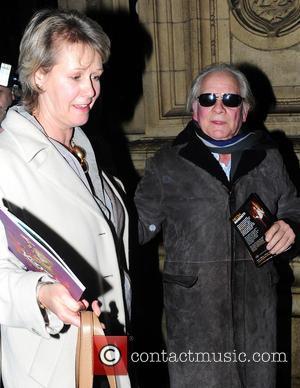 Sir David Jason; Gill Hinchcliffe Kooza Cirque Du Soleil opening night at the Royal Albert Hall - Outside Departures...
