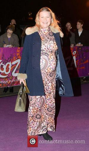 Joanna Page Kooza Cirque Du Soleil opening night at the Royal Albert Hall - Outside Departures  Featuring: Joanna Page...
