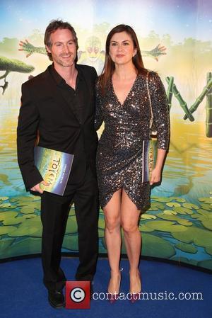 Amanda Lamb and Sean McGuinness 'Cirque du Soleil: TOTEM' premiere at the Royal Albert Hall - Arrivals London, England -...