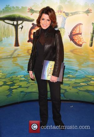 Natasha Kaplinsky 'Cirque du Soleil: TOTEM' premiere at the Royal Albert Hall - Arrivals London, England - 05.01.12