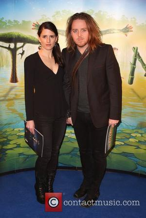 Tim Minchin with his wife Sarah 'Cirque du Soleil: TOTEM' premiere at the Royal Albert Hall - Arrivals London, England...