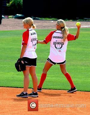 Lauren Alaina, Carrie Underwood The 22nd Annual City of Hope Celebrity Softball Challenge at Greer Stadium Nashville, Tennessee - 09.06.12