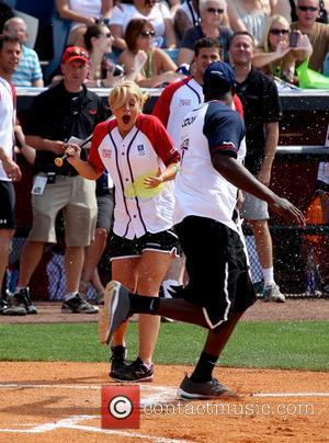 Lauren Alaina, Jared Cook The 22nd Annual City of Hope Celebrity Softball Challenge at Greer Stadium Nashville, Tennessee - 09.06.12