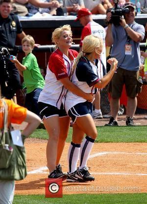 Lauren Alaina, Rachel Holder The 22nd Annual City of Hope Celebrity Softball Challenge at Greer Stadium Nashville, Tennessee - 09.06.12
