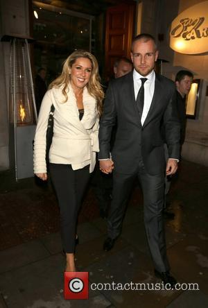 Claire Sweeney and boyfriend Daniel Riley leaving San Carlo restaurant Liverpool, England - 02.11.12