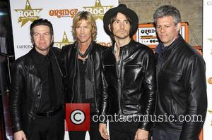 Duff McKagan and Walking Papers,  at the Classic Rock Roll of Honour at The Roundhouse. London, England - 13.11.12
