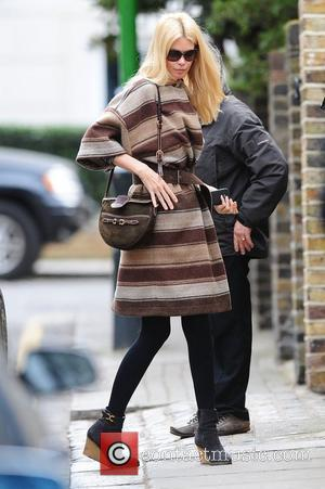Claudia Schiffer out and about in west London London, England - 21.02.12